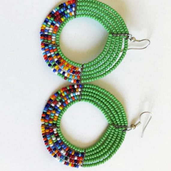 Massai Earings / Boucle D'oreille massai  / Massai Ohrringe